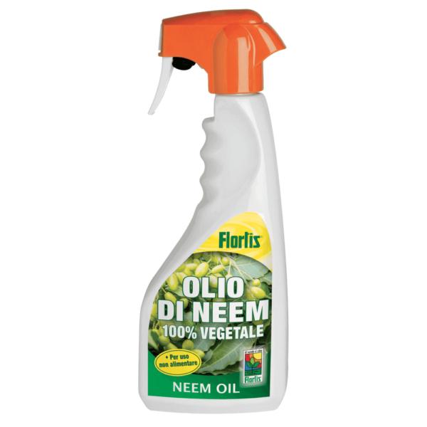 Olio di Neem, insetticida per le piante, 100% naturale e biodegradabile,