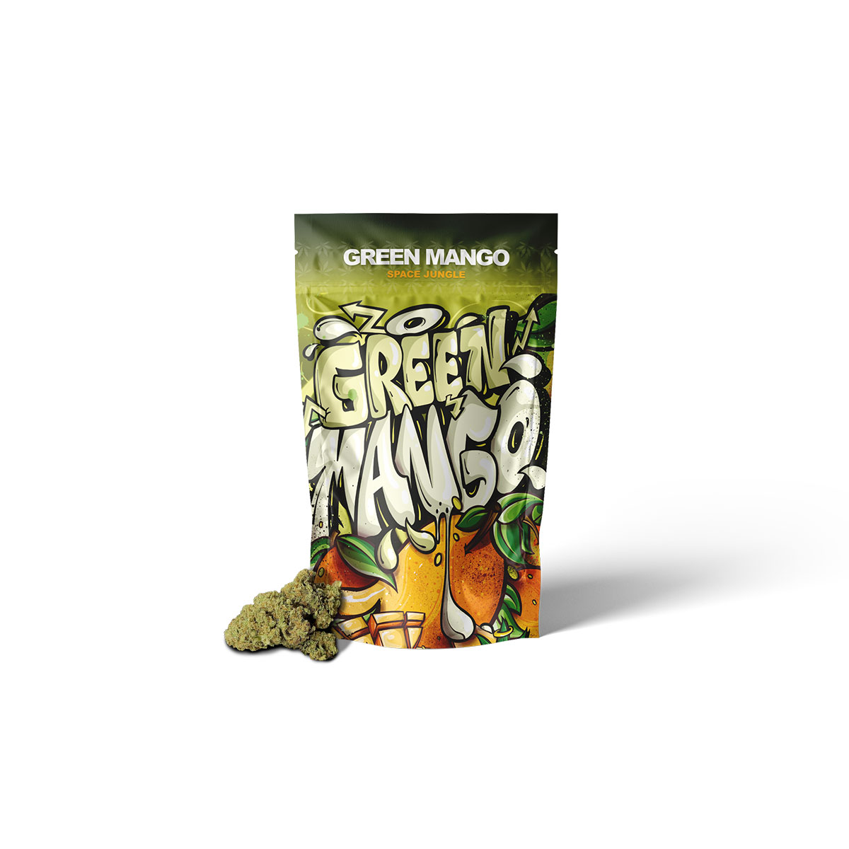 Space Jungle - Green Mango