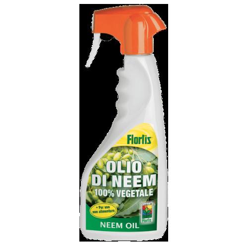 Olio di Neem insetticida da 500 ml.- Flortis