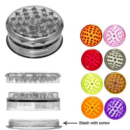Grinder Plastica Trasparente – Varie Fantasie
