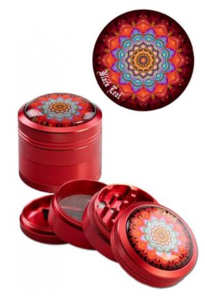 Black Leaf – Mandala Red