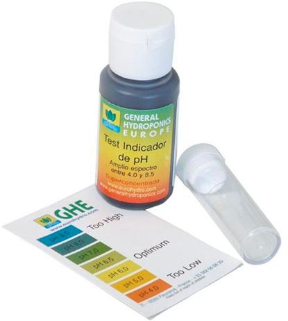 pH Test Kit 30 ml. Liquido – GHE