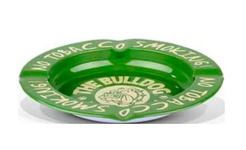 The Bulldog – Posacenere Metallo Verde