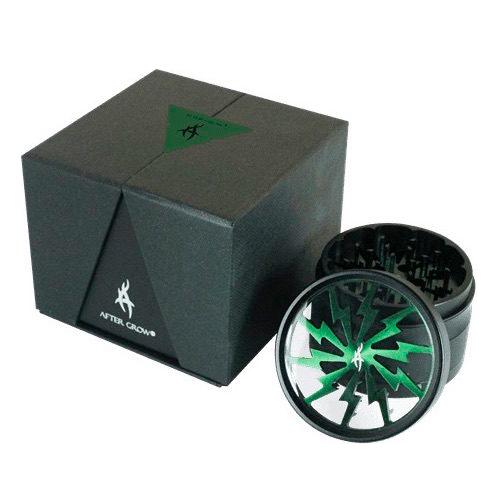 Thunder Bolt Grinder 4 parti   63mm Green